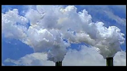 Y001大烟囱冒浓烟环境空气污染源