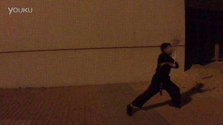 【金教练双节棍教学培训】李教练户外训练视频3