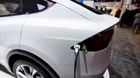 Tesla Model X Hands On CES 2015_高清