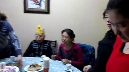老段家老太太过生日