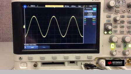 Keysight InfiniiVision 3000T - 触摸技术: 易于使用、提升效率