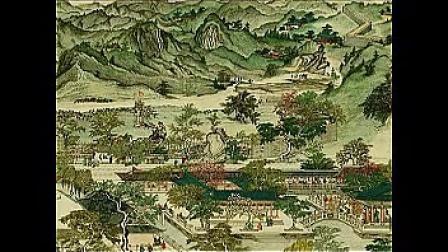 中国十大名曲 渔舟唱晚 南宋皇城图