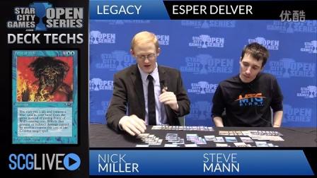 SCGINDY - Deck Tech- Esper Delver with Steve Mann