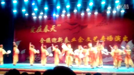 乌拉特前旗明星嘉园舞蹈队《梦入桃花源》