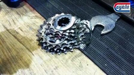 赛科龙C111&C10自行车飞轮及链条护理