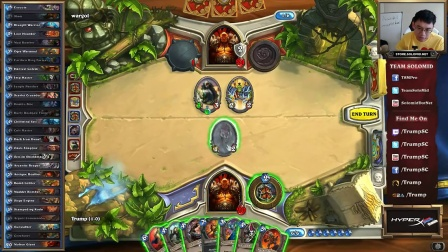 Hearthstone Trump Cards - 194 - Part 1 Bombs Away (Warrior Arena)