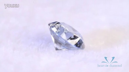 英国恒远钻石(心音钻石) Heart In Diamond  蓝色圆形切工 Blue Heart In Diamond Round Cut
