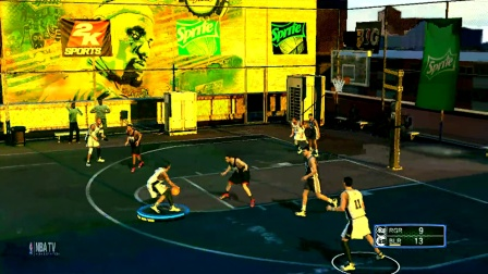 NBA2k14李校长全家vs李校长亲友团