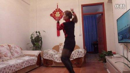 丽丽广场舞学跳【当爱情离开的时候】编舞:凤凰香香