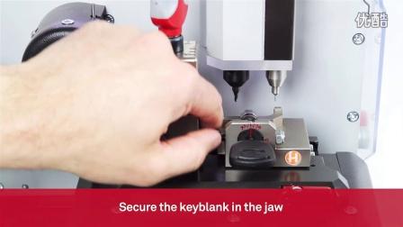 意大利开灵数控钥匙机 - 忍者激光 - 通过钥匙码切割福特六角钥匙