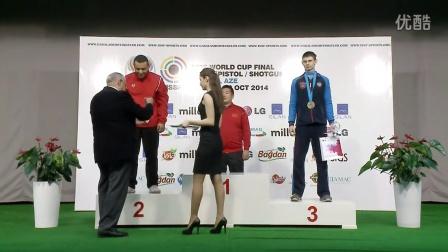 ISSF2014年加巴拉世界杯赛 -金迪(中国)-飞碟双向个人第一名