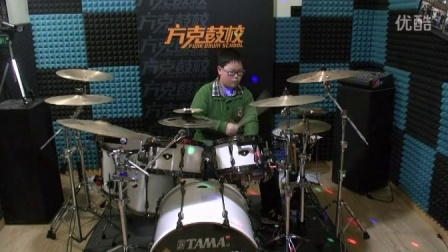 南通方克鼓校 吴炜炀 架子鼓表演《funky》