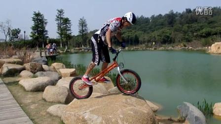 攀爬自行车晋江聚会比赛 小刚