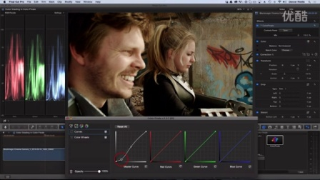 Create Cinematic Look in FCP X with Color Finale 教程