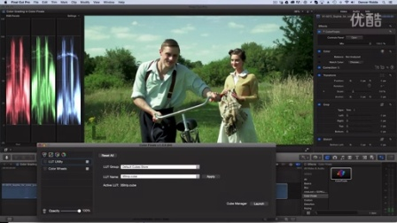 Create Vintage Look in FCP X with Color Finale