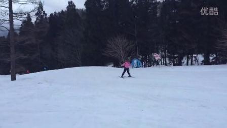 程香初学滑雪-长距离哦