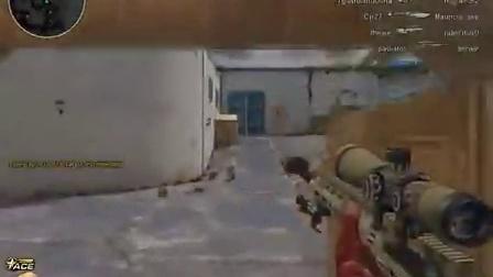 菲律宾服逆战玩家使用逆战雷明顿狙击经典狙杀视频