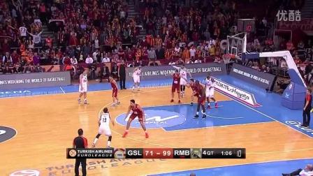 14-15赛季【EuroLeague】16强赛第9轮次日赛事综述