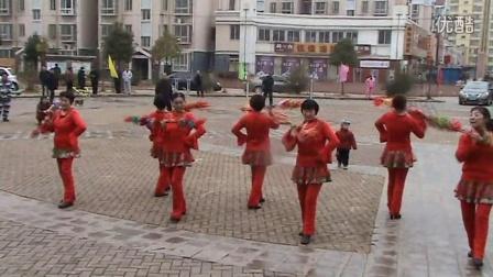 燕之梅舞蹈队―打莲湘《小苹果》原创