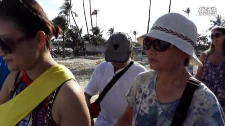 泰国苏梅岛旅游---[乘快艇到外岛潜水去......。]