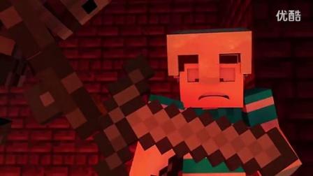 MC动画故事-史蒂夫和怪物的大冒险-第1集-遭遇骷髅怪-Slamacow_标清
