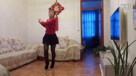 丽丽广场舞:爱上你我傻乎乎