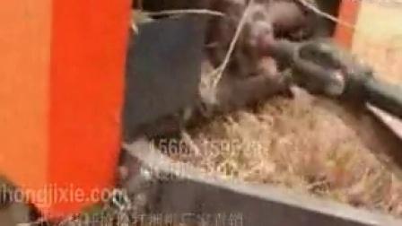 临沂罗庄小麦秸秆打捆机圣鸿调试生产视频