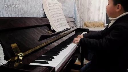 钢琴曲视频  苏格兰的蓝钤花  苏格兰民歌