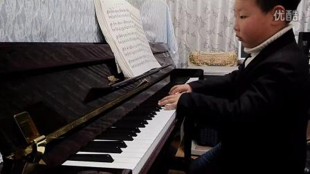 钢琴曲视频  士兵进行曲  舒曼