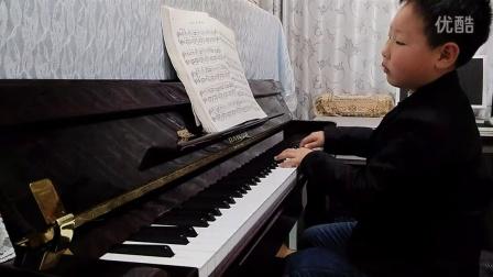 钢琴曲视频  加沃特舞曲  巴赫