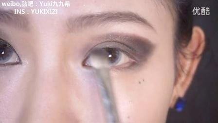 【九九希makeup】暗黑女王逆袭妆容