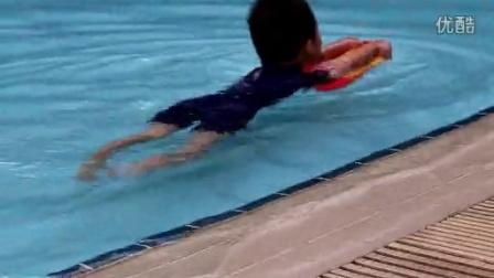 20150404_恩铭滑板游泳1