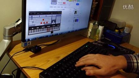 用电脑键盘自弹一段《星际穿越》主题音乐