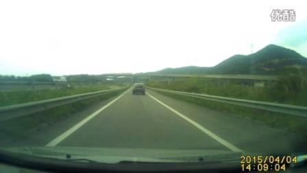 高速路上宝马要命的节奏