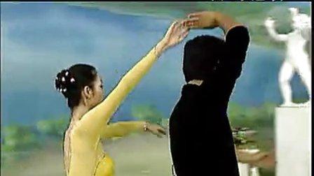 交谊舞(一)华尔兹 中三步 藏族舞步 标清