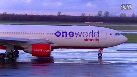【航空精品】飞机着陆的瞬间总是令人激动万分_超清