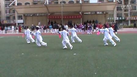 京东燕郊社区太极拳表演赛公园站32式太极剑【2015.4】