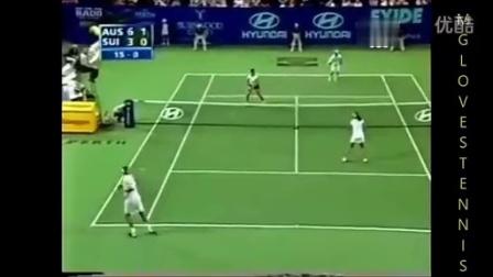 2002赫曼杯 罗杰&米尔卡费德勒vs休伊特&莫立克精彩集锦和场上访问