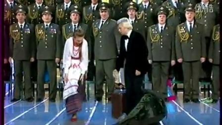 玛琳娜·杰维娅托娃与著名男高音尼古拉·巴斯科夫演唱Маруся