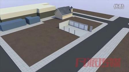 建筑施工动画01