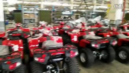 ATV factory in Zhejiang province