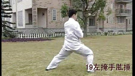 王二平56式太极拳慢动作及分解动作口诀
