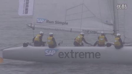 2015国际极限帆船系列赛青岛站第一天比赛集锦