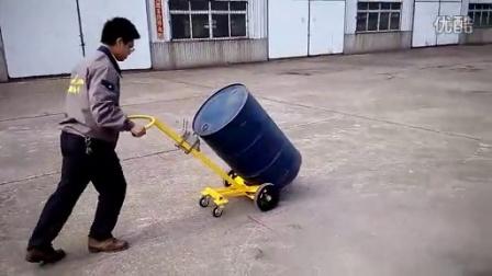 HT10-4W四轮圆桶搬运手推车