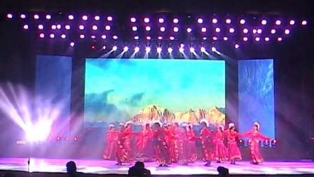 中铁四局第八届企业文化艺术节康纯舞蹈班演出藏族舞蹈《心声》