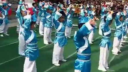 """宝应机关幼儿园""""庆六一""""幼儿团体操表演:中五班《三字经》"""