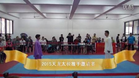 2015年第四届天龍太極全国太極推手邀请赛花絮