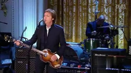 Paul Mccartney - Got To Get You Into My Life -2010年白宫