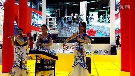 【江西是个好地方】第十一届深圳文博会现场演奏