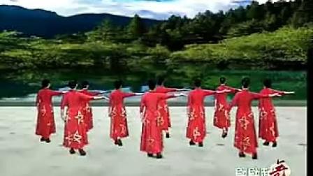 学跳杨艺形体舞绣红旗剪裁视频